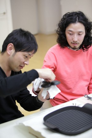 Tomoya Tabuchi and  Yota Kakuda