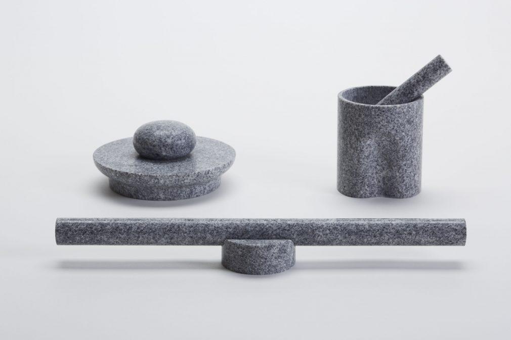 "Shimamoto Sekizai × Leon Ransmeier ""Stone Tools"""