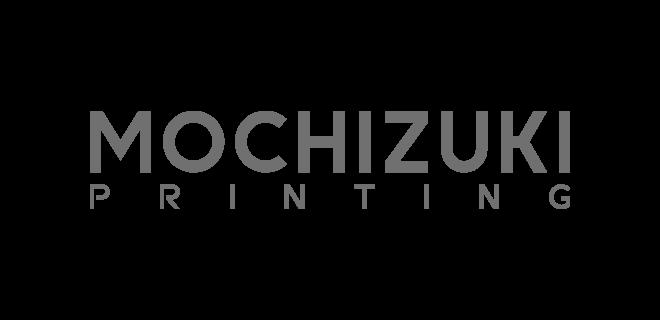 望月印刷株式会社 ロゴ